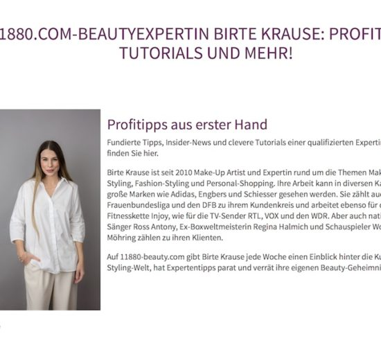 beauty nagged haare Kosmetik Birte krause