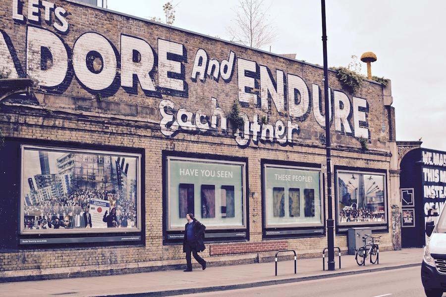 London Travel art fashion