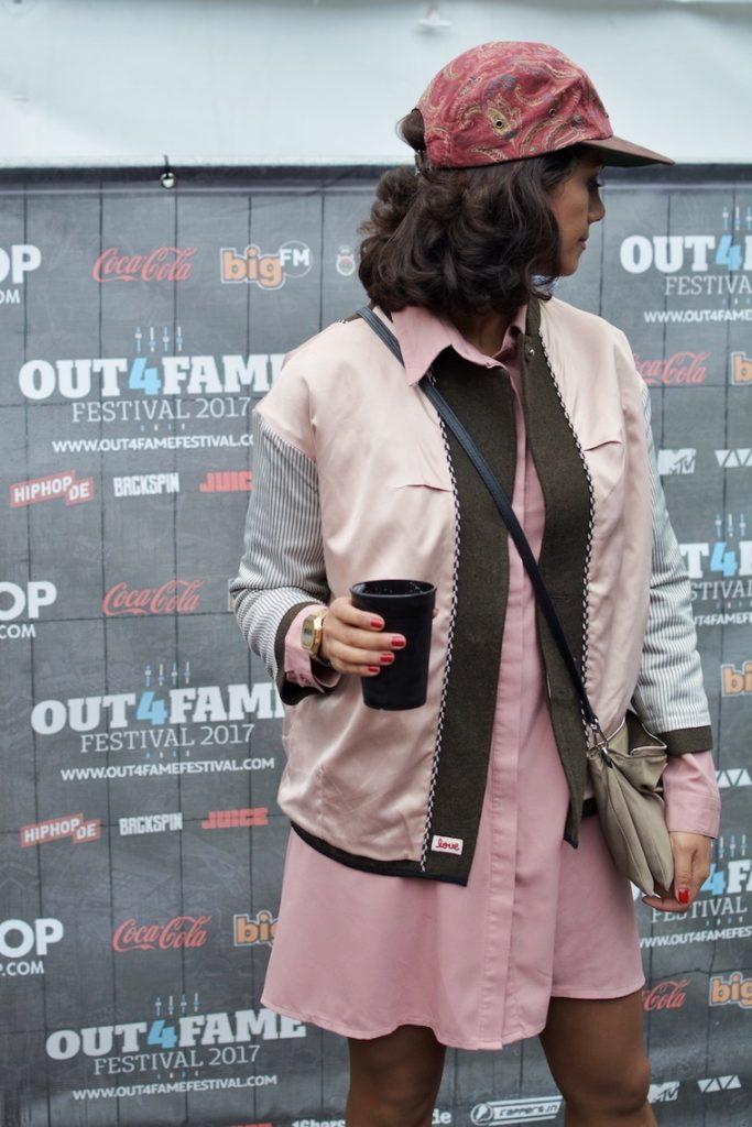 festival hiphop woman fashion