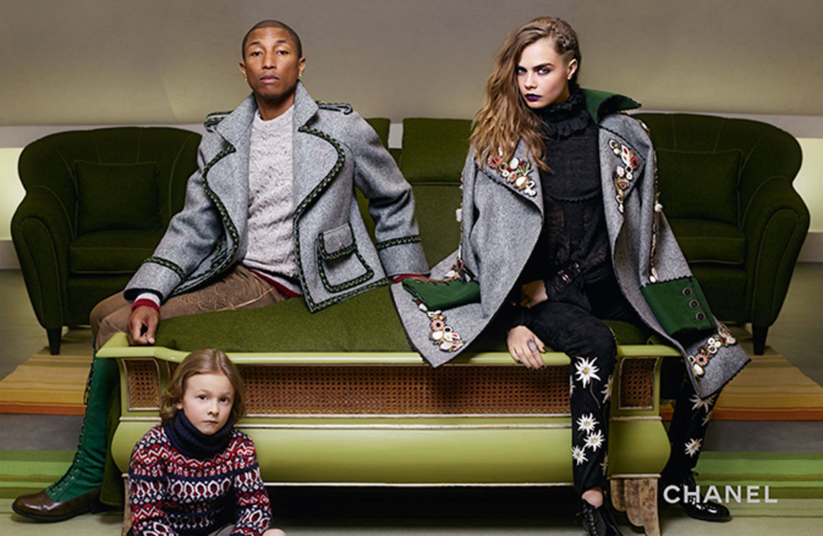 Chanel Pharrell Williams for Chanel Campaign