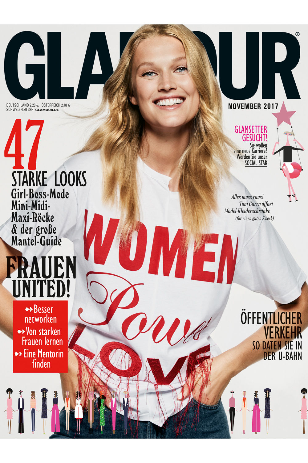 cover-november glamour make up Birte krause